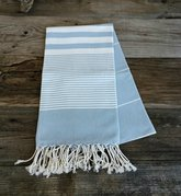Light Blue Turkish beach towel